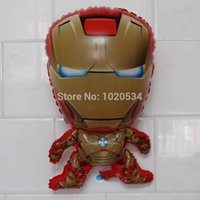 balloon news - News cm Iron Man Foil Balloons Cartoon foil balloon for party decoration