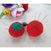 Wholesale 2015 Hot Red Sewing Needle Pin Cushions Sewing Wrist Strap Handmade Diy Tool