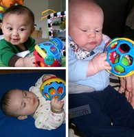 Wholesale Ball Baby Rattles Grasping Bell Ball Sound early Educational Toy