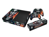 Cheap 1 Set Joker XboxOne Protective Vinyl Decal Skin Stickers Wrap For xbox one Console+ 2 Controllers decal Covers