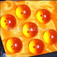 Wholesale Dragon Ball Animation New In Box DragonBall Stars Z Crystal Balls Set of CM In Diameter With Retail Box Free fedex tf2b