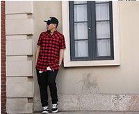 al por mayor franela pyrex-fresco exclusivos de franela con cremallera hombres de la camisa de tela escocesa de hip hop ropa de diseño pyrex mayor-nuevos reyes pasados los hombres de ropa urbana homme Tyga marca HBA