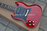 left hand electric guitar - 2015 custom shop The cross board embedded in his left hand SG400 personality electric guitar EMS