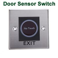 Wholesale Hot Sale Infrared Sensor Switch No Touch Contactless Door Release Exit Button With LED Indication