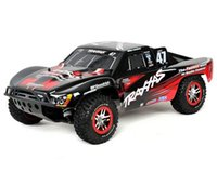 short course - Traxxas Slash X4 Brushless Scale Electric WD Short Course Truck w TQi GHz Radio TRA6808