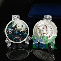 american coin collecting - 2015 New Arrival The Avengers Alliance Age of Ultron Collect Coin American Superhero Challenge Coins