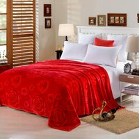 Wholesale 230X250cmSenior luxury blanket Super Soft Fastness Colorful Pilling Resistance Blankets Fleece Blankets Layers Velvet Plaid Patterns Bedding