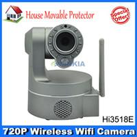outdoor wireless wifi ip camera - Ordinary Waterproof Vandalproof HD720P Wireless WiFi Infrared IRCut Pan Tilt Security Outdoor IP Network Camera