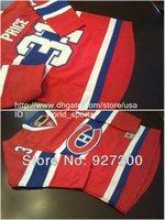 achat en gros de canadiens hockey jersey for kids-Cheap Discount jeunesse Montréal Carey Price Canadiens 31 enfants CH rouge Nhl hockey sur glace cousu garçons Jerseys