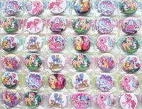 asian sheets - New sheets My Little Pony Badges mm cartoon fashion Button Pin badge kids Clothing Accessories
