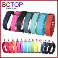 home goods - 2015 Sale Hot Sale Good Smart Bracelet Replacement Rubber Band Fitbit Flex Wireless Activity Bracelet Wristband with Metal Clasp Colors