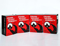 Wholesale 2015 Crabs Adjust Humidity Pack Vol against cards game Base Adults Party Game DHL free