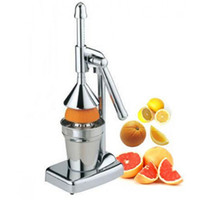 Wholesale High Quality Home Kitchen Appliances Stainless Steel Manual Juice Extractors Silver Orange Fruit Juicers Machine Sell