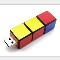 Wholesale Cube shape USB flash drive USB flash disk