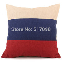 american canadian flags - The new cotton flag series Pillow British flag American flag Canadian flag cushions