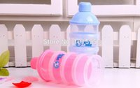 baby food products - Hot Selling baby powder milk box storage layer newborn food container products Milk Bottle
