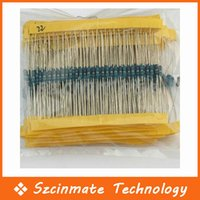 30 Tipo 1 / 4W Resistencia 1% Metal Film Resistor Surtido Kit Cada 20 600pcs totales / bolsa 100bag / lot