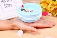 big blue pill - Creative Cute Candy Color Macaron Mini Storage Box Jewelry Box Pill Case big design