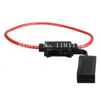 Wholesale New cm V Gauge ATC Waterproof Auto Car Boat Truck Blade Fuse Holder In line AWG Wire Copper Power