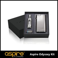 Wholesale New Arrival Original Aspire Odyssey vapor Aspire Odyssey Kit come with Pegasus MOD W Triton Tank With Pegasus Mod Bell Cap DHL