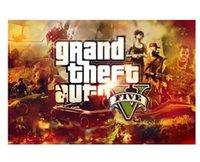 auto wallpapers - New Grand Theft Auto Modern Stylish Custom Fashion Tatoo On Wall Poster Print Size x76 cm Wall Sticker U1
