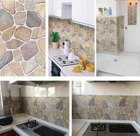 modernos de piedra papel tapiz ladrillo vinilo wallpapers pvc estreo d para rollos de papel de aluminio de cocina de paredes papel de pared