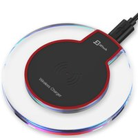 bettery charger - Transparant Wireless Charger pad for Smart phone Samsung Galaxy s6 With Retail Package bettery charger Direct Factory Price