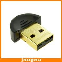 Wholesale 20M Mbps Mini USB2 Bluetooth CSR V4 Dongle Dual Mode Wireless Adapter For Win7 Vista XP Win8