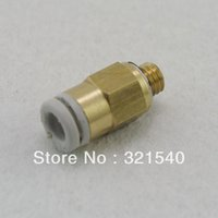 Wholesale Lot5 Replace SMC KQ2H08 S Pneumatic Tube Fittings mm quot BSPT One Touch Push In Brass Male Tube Straight Union Connector order lt no trac
