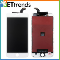 Wholesale LCD Display Touch Digitizer Complete Screen with Frame Full Assembly Replacement for iPhone iphone plus