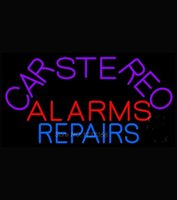 alarm sign - Car Stereo Alarms Repair Neon Sign Neon Sign Beer Bar Neon Light Sign Store Display Real Glass Tube x16
