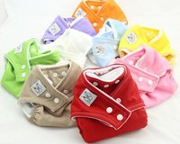 Wholesale High quality Adjustable Washable Baby Cloth Diaper Nappy Urine Pants COLORS