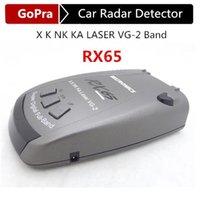 band detector - Super Quality RX65 Car Radar Detector anti radar With Degree Detection POP Support X K NK KA LASER VG Band