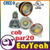 Wholesale csa ul Dimmable E27 Led par20 Light CREE COB W E14 GU10 MR16 Led Lights Bulb Angle AC V V