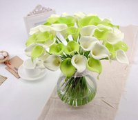 artificial mini flowers - Factory Decorative flower Picasso artificial real touch flowers for mini calla lily flower wedding decoration