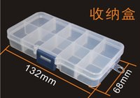 Cheap 10 Compartment Slot Organizer Storage Best metal kits Storage Assortment Box