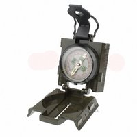navigation light - Military Compass with Red LED Light Dual Map Scales Camping Navigation Lensatic for Outdoor Activities Hiking Camping