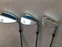 Wholesale Satin Chrome SM5 Wedge SM5 Golf Wedge Golf Clubs quot quot quot quot quot Degree Regular Stiff Flex Steel Shaft With Head Cover
