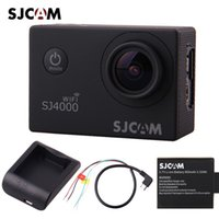 av images - new Original SJCAM SJ4000 WiFi P Sport Action Camera Car DVR Extra Battery Charger AV Cable DHL