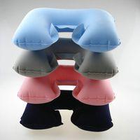 air foam pillow - U type air travel massage pillow memory pillow cervical neck pillow U shaped neck pillow cushion by china post