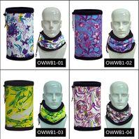 Wholesale Autumn winter warm scarf unisex outdoor multifunctional headgear thick fleece Double Drawstring scarves
