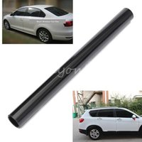 Wholesale 50cm x cm Black Window Tint Film Glass Roll PLY Car Auto House Commercial uv insulation dark black Car window tint film