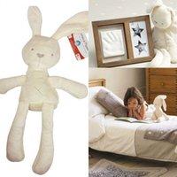 2015 Hot vente 50cm Mamas Papas lapin bébé dormir confort poupées jouets en peluche Millie Boris lisse Obéissant Lapin sommeil Poupées calme MYF19