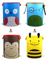 laundry bin - pop up toy child animal laundry hamper the toy storage bin cartoon storage basket