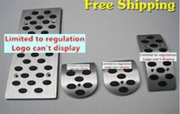 Wholesale pedal support Car Styling cover Aluminum Alloy covers foot Gas Brake Rest accelerator Pedal MT for TRD general