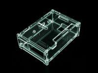 Wholesale 5 pc Transparent Pi Box case shell for Raspberry Pi pure aluminum heatsink set kit