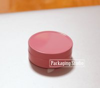 Wholesale 10g Pink Cosmetic Cream Containers Empty Sample Cream Aluminium Packaging Jars Bottles