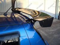 Wholesale For Suzuki Swift Carbon Fiber Rear Window Roof Wing Spoiler GTC Style