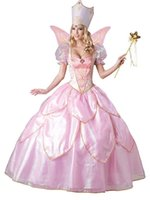 adult wizard of oz costumes - Hot Sexy Elegant Deluxe Fairy Godmother Costume Adult Glinda Wizard of Oz Halloween Fancy Dress