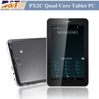 Wholesale Freelander PX2C G tablet pc inch MTK8389 Quad Core Phone Call GPS Android Dual Sim Dual Camera MP phablet Tablets Freeshipping